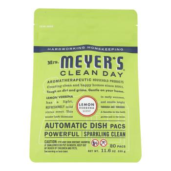 Mrs. Meyer's Clean Day - Automatic Dishwasher Packs - Lemon Verbena - 12.7 Oz