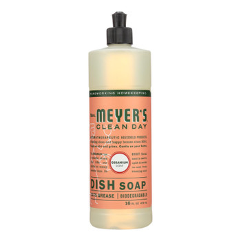 Mrs. Meyer's Clean Day - Liquid Dish Soap - Geranium - 16 Oz