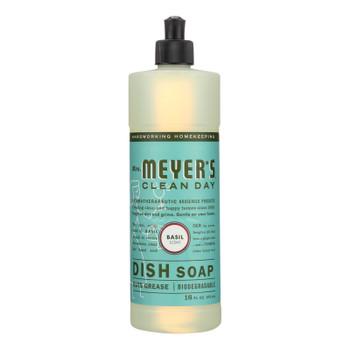 Mrs. Meyer's Clean Day - Liquid Dish Soap - Basil - 16 Oz