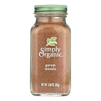 Simply Organic Garam Masala - Case Of 6 - 3 Oz.