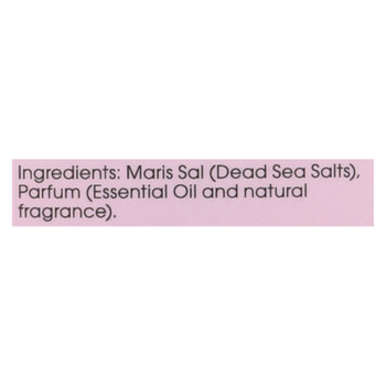 One With Nature Bath Salts - Dead Sea Mineral - Rose Petal - 32 Oz