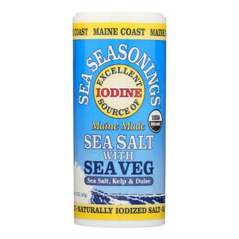 Maine Coast Organic Sea Seasonings - Sea Salt With Sea Veg - 1.5 Oz Shaker