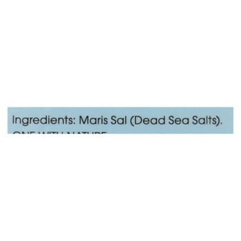 One With Nature Bath Salts - Dead Sea Mineral - Fragrance Free - 32 Oz