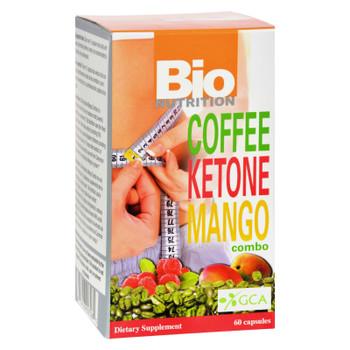 Bio Nutrition - Coffee Keytone Mango Combo - 60 Ct