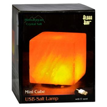 Himalayan Salt Cube Salt Lamp - Usb - 3 In