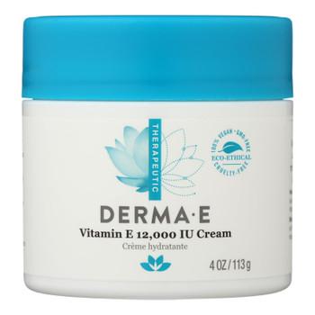 Derma E - Vitamin E Creme - 12000 Iu - 4 Oz.