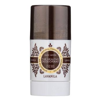 Lavanila Laboratories The Healthy Deodorant - Pure Vanilla Mini - 1 Each - 0.9 Oz.