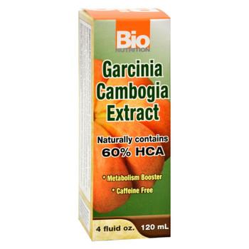 Bio Nutrition - Garcinia Cambogia Liquid - 4 Fl Oz