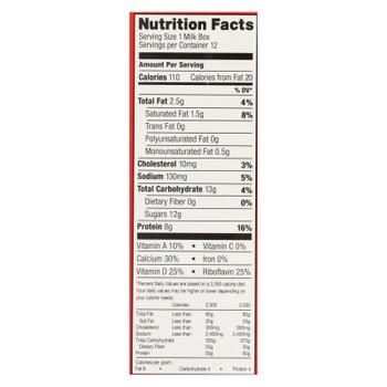 Horizon Organic Dairy Organic Low Fat 1 % Milk - Aseptic - 12/8 Fl Oz