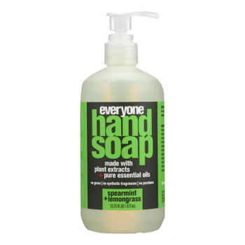 Eo Products - Everyone Hand Soap - Spearmint And Lemongrass - 12.75 Oz