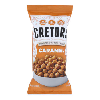 G.h. Cretors Popcorn - Just The Caramel - Case Of 12 - 8 Oz