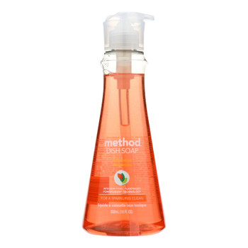 Method Products Inc Method Dish Soap Clementine - Case Of 6 - 18 Fl Oz
