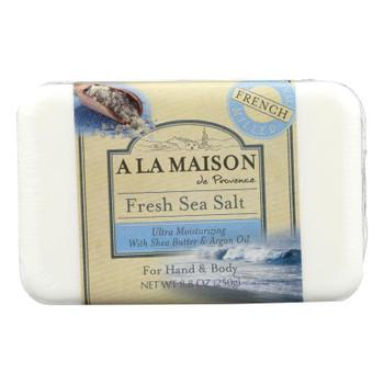 A La Maison - Bar Soap - Fresh Sea Salt - 8.8 Oz