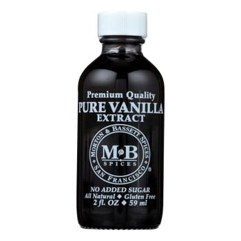 Morton And Bassett Extract Vanilla - Vanilla - Case Of 3 - 2 Fl Oz.