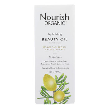 Nourish Organic Argan Oil - Replenishing Multi Purpose - 3.4 Oz