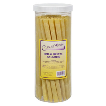 Cylinder Works - Cylinders - Herbal Beeswax - 50 Ct