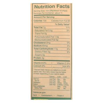 Late July Snacks Organic Tortilla Chips - Thin And Crispy Sea Salt - Case Of 9 - 11 Oz.