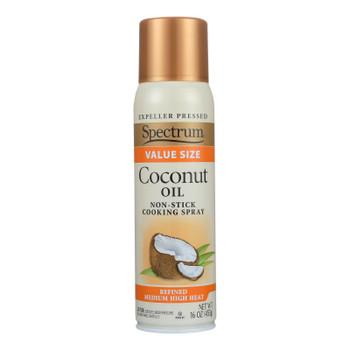 Spectrum Naturals Coconut Spray Oil - Case Of 6 - 16 Oz.