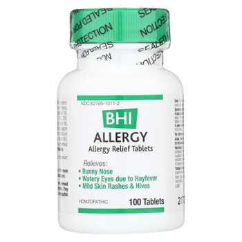 Bhi - Allergy Relief - 100 Tablets