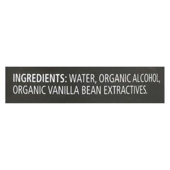 Frontier Herb Vanilla Extract - Organic - 8 Oz