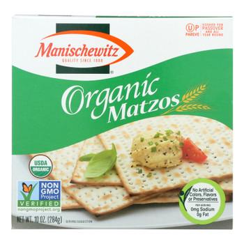 Manischewitz - Organic Matzo - Case Of 12 - 10 Oz