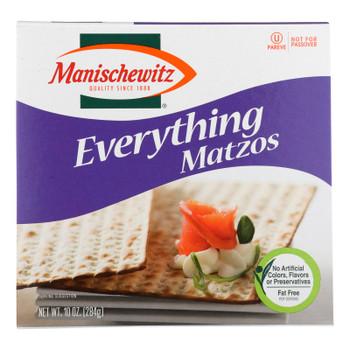 Manischewitz - Matzo Everything - Case Of 12 - 10 Oz.