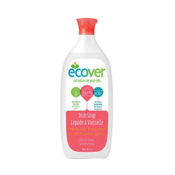 Ecover Liquid Dish Soap - Pink Geranium - Case Of 6 - 25 Fl Oz.