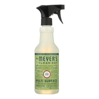 Mrs. Meyer's Clean Day - Multi-surface Everyday Cleaner - Iowa Pine - Case Of 6 - 16 Fl Oz.