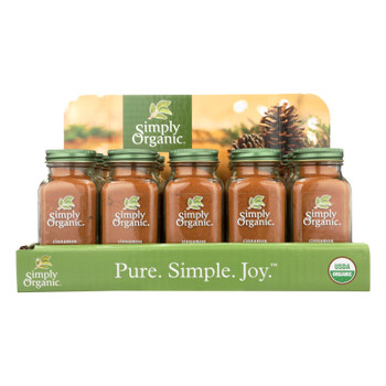 Simply Organic - Ground Cinnamon - Organic - 15 Count