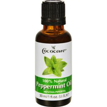 Cococare Peppermint Oil - 100 Percent Natural - 1 Fl Oz
