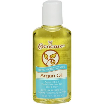 Cococare Argan Oil - 100 Percent Natural - 2 Fl Oz