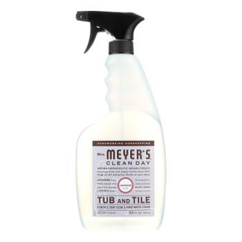 Mrs. Meyer's Clean Day - Tub And Tile Cleaner - Lavender - 33 Fl Oz - Case Of 6
