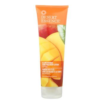 Desert Essence - Hand And Body Lotion - Island Mango - 8 Fl Oz