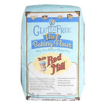 Bob's Red Mill - Gluten Free 1-to-1 Baking Flour - 25 Lb - Bulk Bag