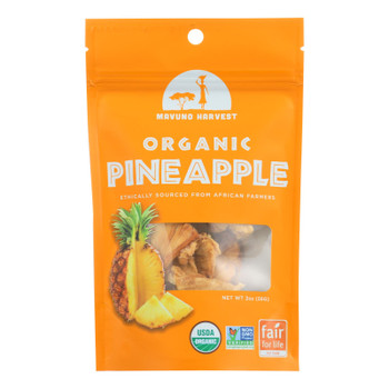Mavuno Harvest Gluten - Free Dried Pineapple - Case Of 6 - 2 Oz.