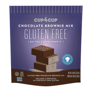 Cup 4 Cup - Chocolate Brownie Mix - Case Of 6 - 14.25 Oz.