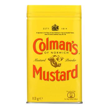 Colman Dry Mustard Powder - 4 Oz - Case Of 6
