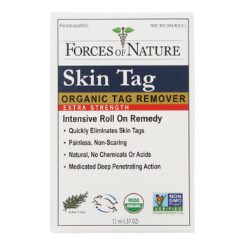 Forces Of Nature - Skin Tag Control - Certified Organic - Extra Strength - 11 Ml
