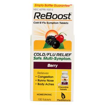 Reboost Cold Flu Relief Tablets - 100 Tablets