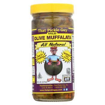 That Pickle Guy Olive Muffalata - Case Of 12 - 8 Fl Oz