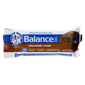 Balance Bar - Chocolate Craze - 1.76 Oz - Case Of 6