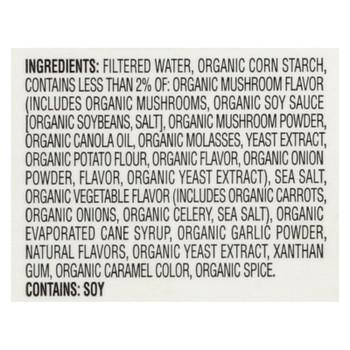 Imagine Foods Gravy - Organic - Vegetable Wild Mushroom - Case Of 12 - 13.5 Fl Oz