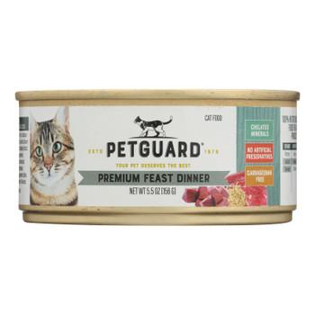 Petguard Cats Premium Feast Dinner - Case Of 24 - 5.5 Oz.
