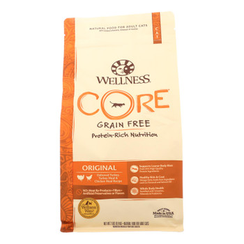Wellness Pet Products Cat Food - Core Fish And Fowl - Case Of 8 - 2 Lb.