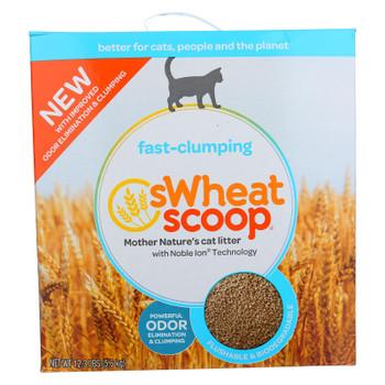 Swheat Scoop Natural Cat Litter - Original - Case Of 4 - 12.3 Lb.