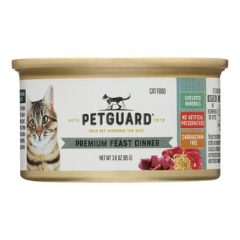Petguard Cats Premium Feast Dinner - Case Of 24 - 3 Oz.