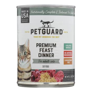 Petguard Cats Premium Feast Dinner - Case Of 12 - 13.2 Oz.