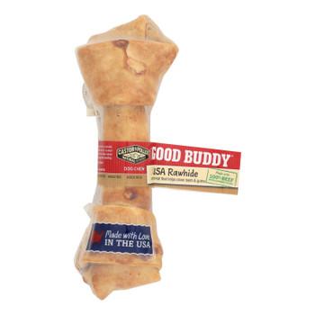 Castor And Pollux Good Buddy Rawhide Bone Dog Treat - 6-7 Inch - Case Of 12