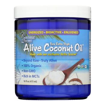 Coconut Secret - Alive Coconut Oil - Case Of 6 - 16 Fl Oz.