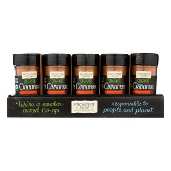 Frontier Herb - Cinnamon - Organic - Case Of 15 - 1.90 Oz